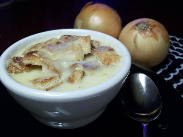 Creamy Swiss Onion Soup