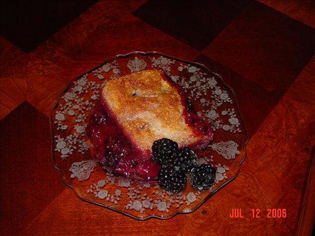 Blackberry Cobbler for 2