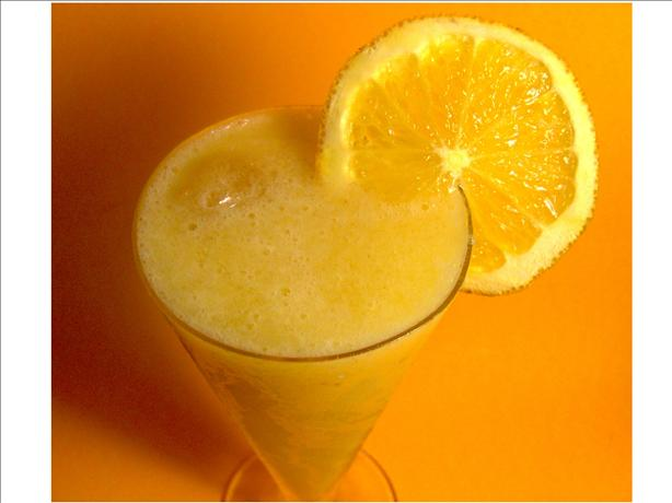 Orange Banana Cream Smoothie