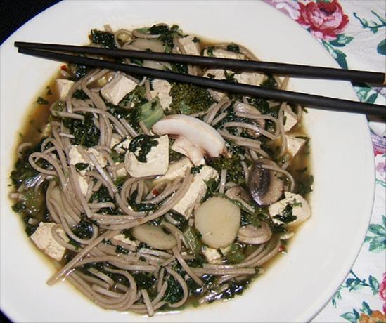 Dofu Cai Mian (Tofu Vegetable Noodle Soup, Two Versions)