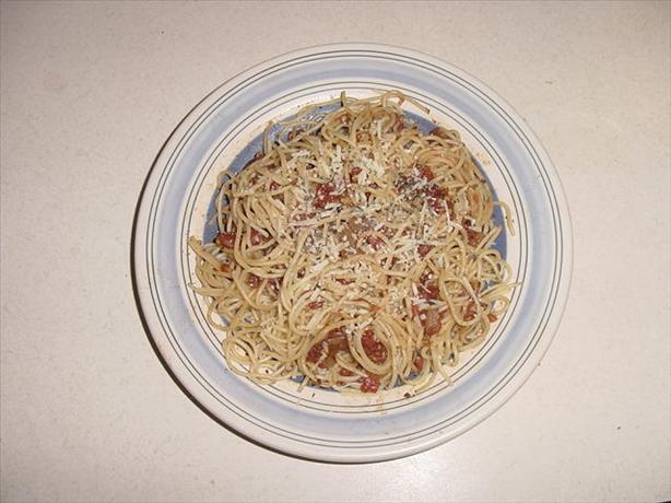 Angel Hair with Balsamic Tomatoes