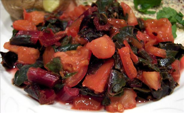 Swiss Chard With Tomatoes