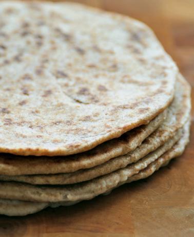 Whole Wheat Piadinas or Italian Flat Bread