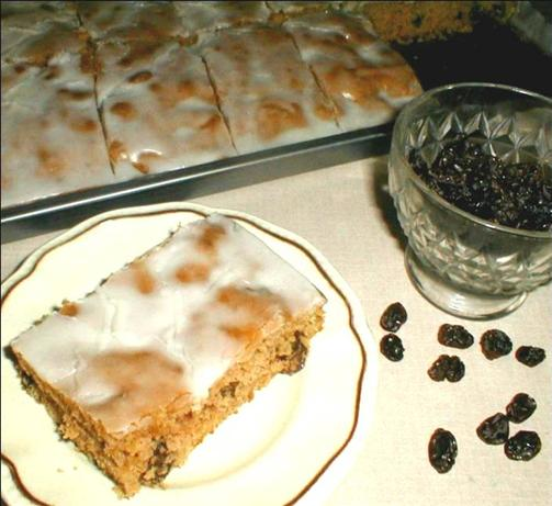 Raisin Sheet Cake