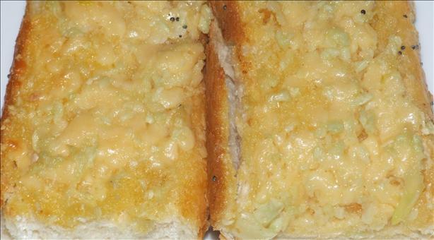 Quick Garlic Parmesan Bread