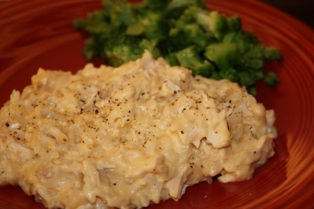 Creamy Chicken & Rice