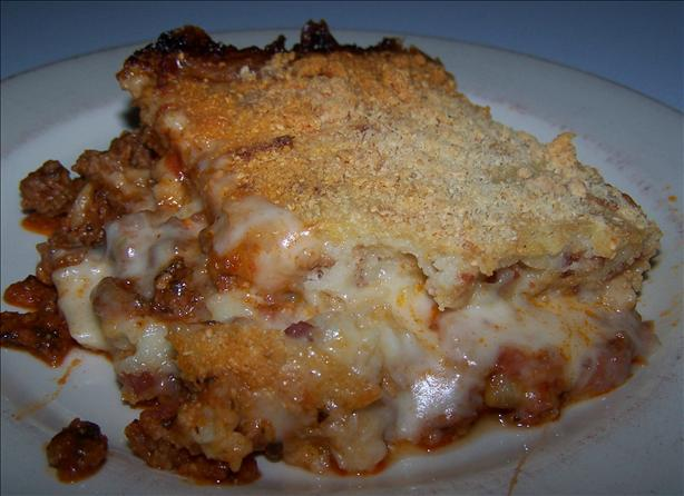 Ground Beef Pepperoni Pizza Casserole