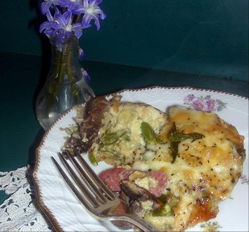 Icelandic Asparagus & Ham Bake