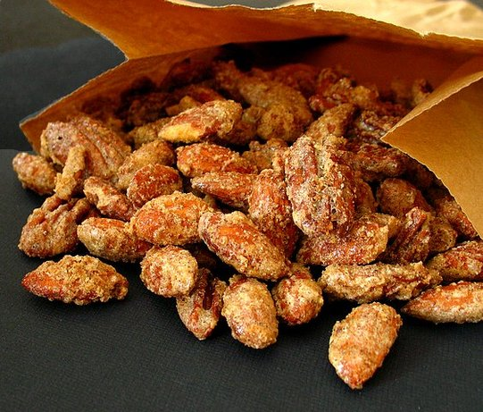 Sugared Spiced Nuts