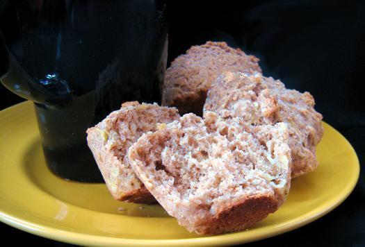 Banana Spice Bran Muffins