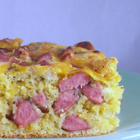 Corn Dog Dressing Bake