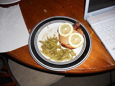 Lemon-Glazed Pork Chops