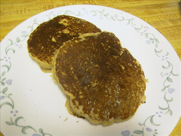 Oat Bran Pecan Pancakes