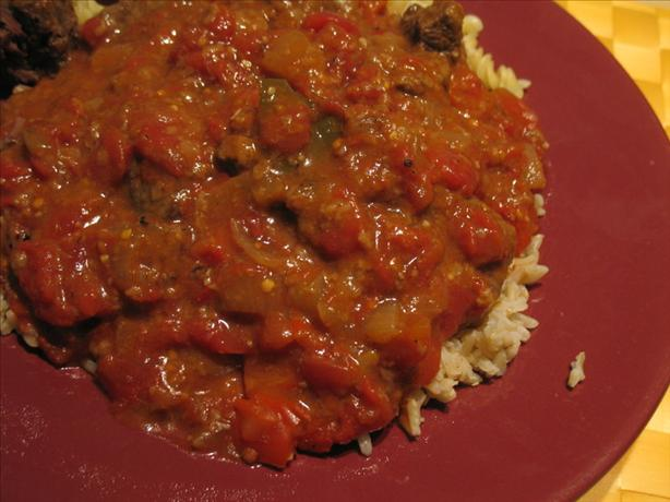Beef With Tomato Gravy