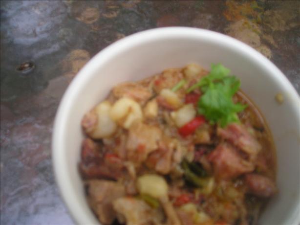 Simpler Posole, Navajo (Hominy Pork Stew)