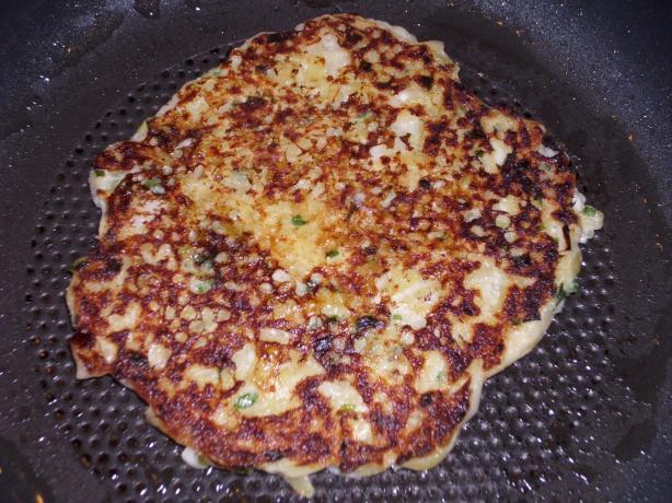 Sour Cream and Chive Potato Pancakes