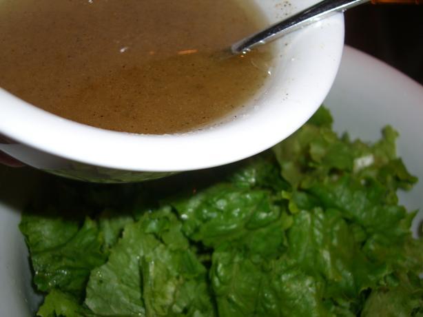 Oil and Vinegar Salad Dressing