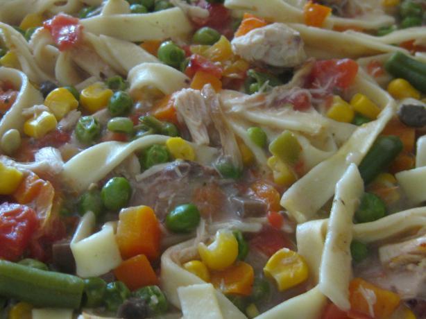 Easy Chicken Noodle Casserole