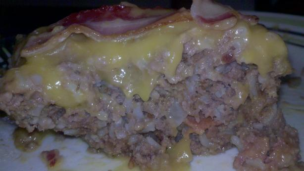 Cheddar Cheese Bacon Meatloaf