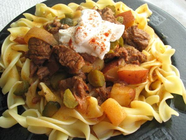 "Authentic Hungarian Goulash ""gulyasleves"""