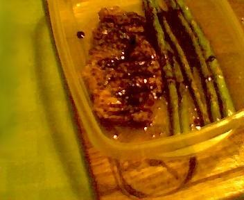 Honey-Balsamic Glazed Grilled Chicken W/ Asparagus