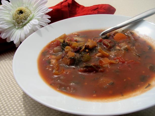 Low-Fat Minestrone Soup
