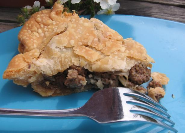 Churer Fleischtorte (Swiss Meat Pie)