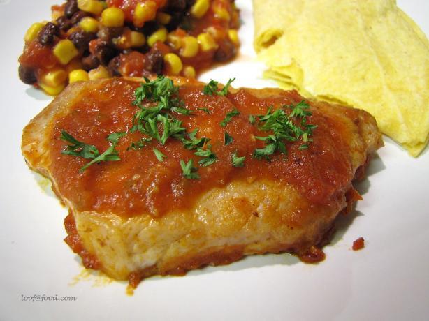 Ww Southwestern Pork Chops - 4 Pts.