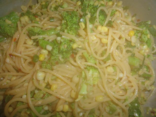 Hot Asian Noodles With Broccoli