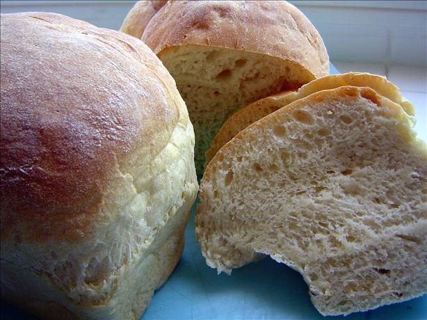 Awesome Homemade Crusty Bread (Bread Machine)