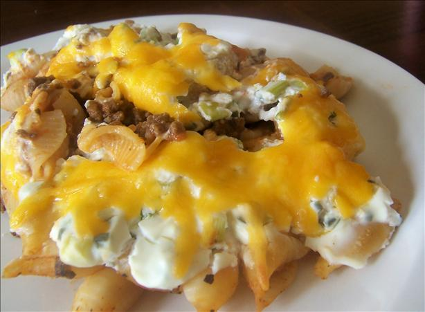 Cheese Topped Beef Bake