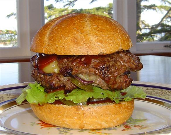 Hot Stuffed Mama Burger