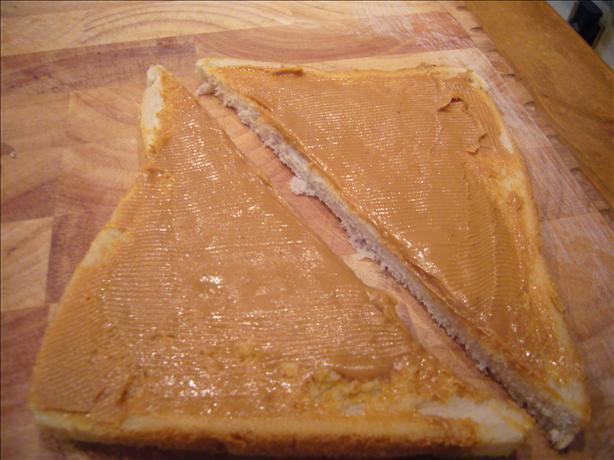 Calvin's Peanut Butter Sandwich