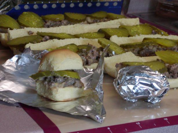 They Could Be Sliders (If Eaten With Eyes Closed) - White Castle
