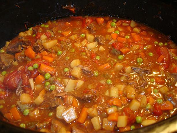 Savory Beef Stew (Crock Pot)