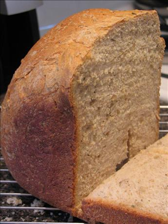 Herby Sunflower Crunch Wheat Bread ( Breadmaker 1 1/2 Lb. Loaf)