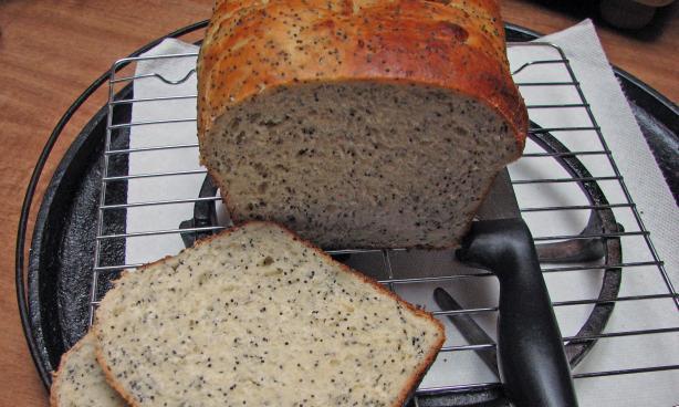 Lemon Spice Bread ( Breadmaker 1 1/2 Lb. Loaf)