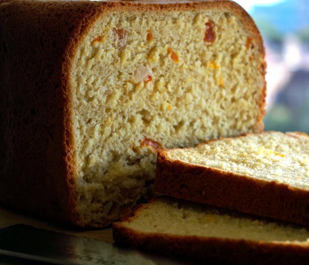 Apricot Almond Bread ( Breadmaker 1 1/2 Lb. Loaf)
