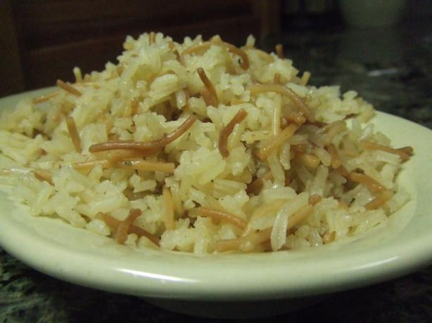 Fluffy Rice Pilaf