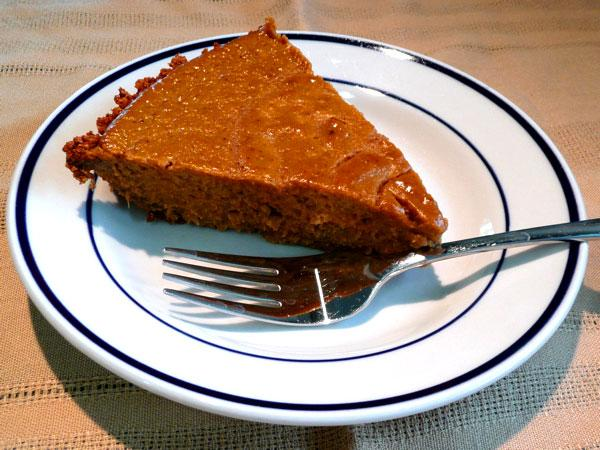 Too-Good-To-Deny Pumpkin Pie