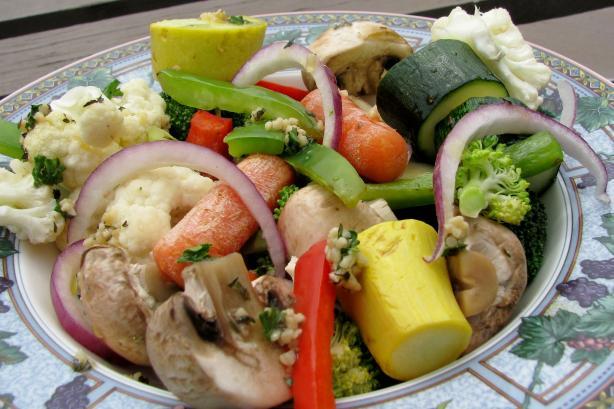 Grilled Veggie Packet