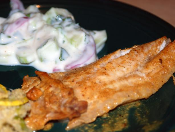 Tandoori Red Snapper (Cooking Light)