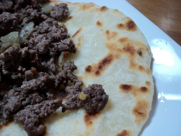 Beef Chapatis (African Version of Tacos)