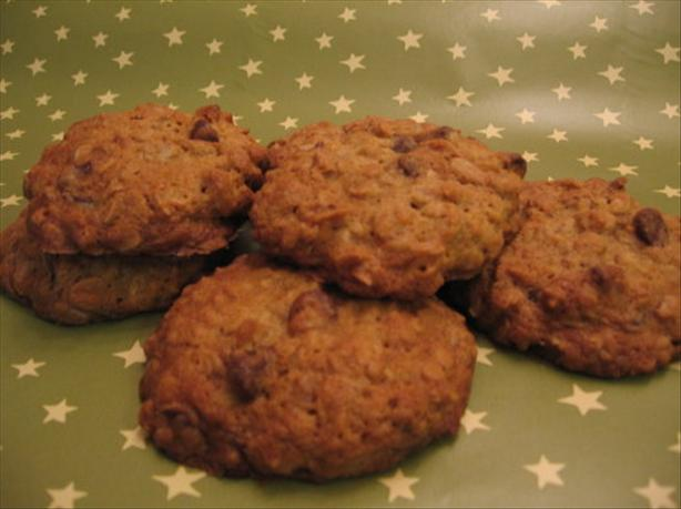 Chocolate Chip Orange Oatmeal Cookies