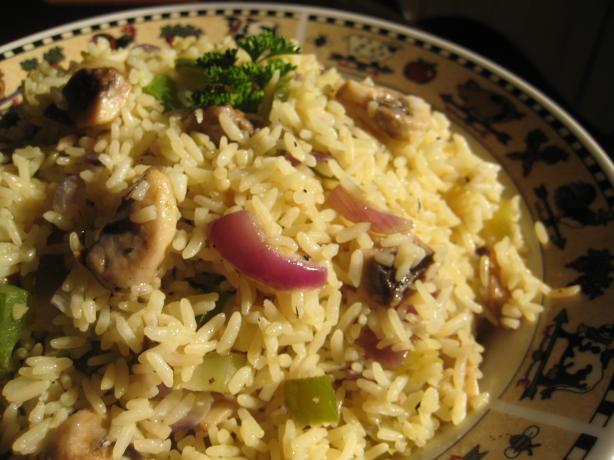 Rice With Veggies & Herbes De Provence