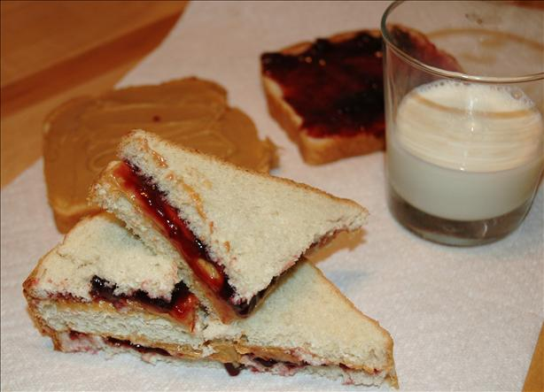 Traditional Peanut Butter and Jelly