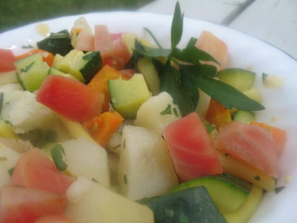 Bollito Misto Di Verdure (Boiled Mixed Vegetables)