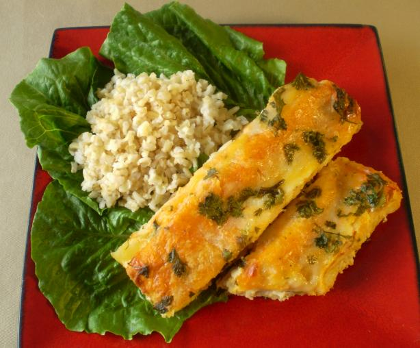 Creamy Corn and Spinach Enchiladas With Chicken