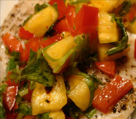 Mahi-Mahi With Fresh Pineapple Salsa