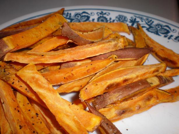 Unfried Sweet Potato Fries